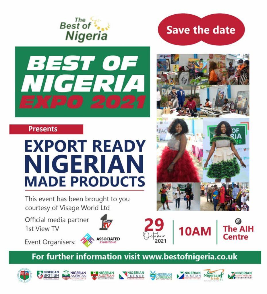 The Best of Nigeria Expo 2021